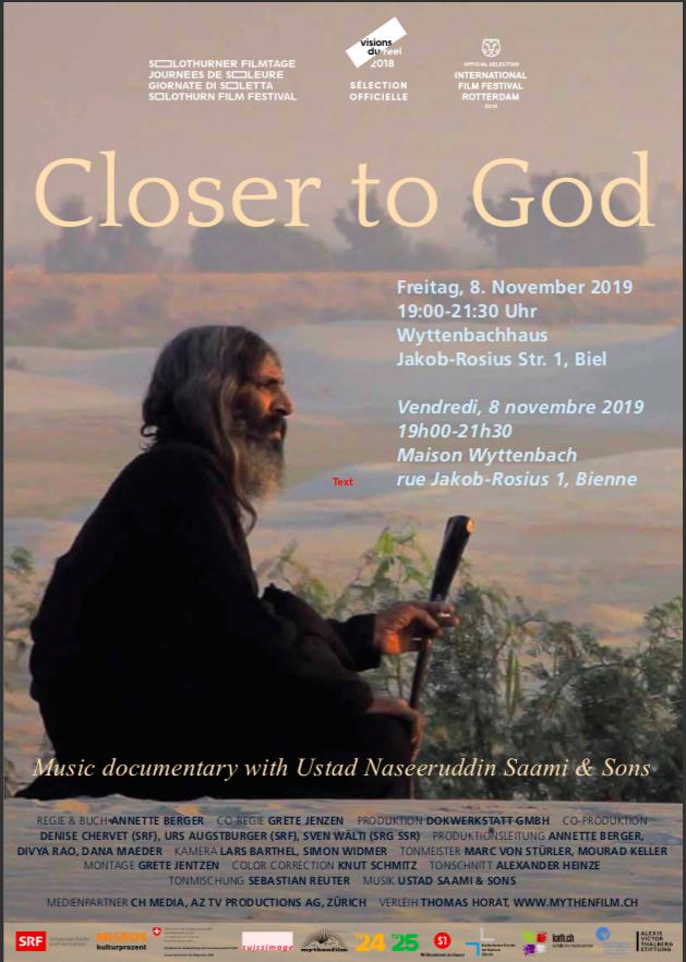Film: Closer to God
